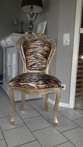 Restaurierter Stuhl  Shabby Shic