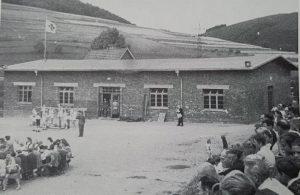Turnhalle Osberghausen -Foto aus dem Jahr 1949