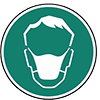 Mund / Nase Einmalmaske EN 149/2001
